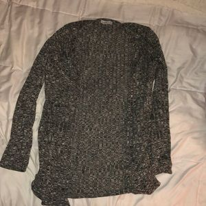 Gray cardigan from Charlotte Russe